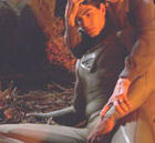routh touching his bulge