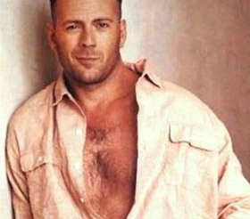 Bruce Willis nude