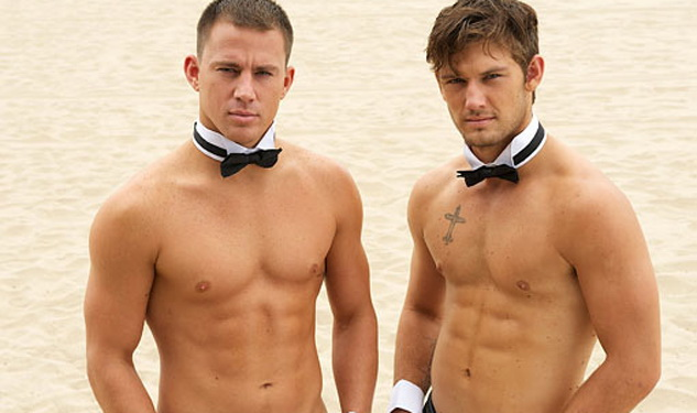 Channing Tatum strips naked to show off chiselled body in