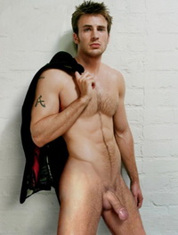 More Chris Evans naked photos  for members.