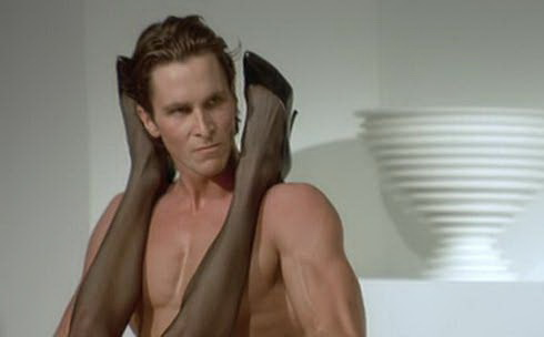 Funny Christian Bale Nude Sex in American Psycho