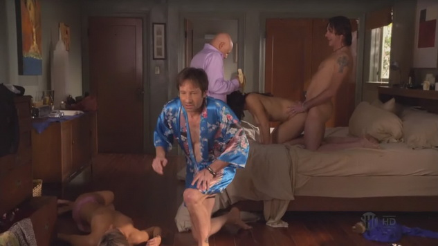 Download David Duchovny Californiacation sex scene clips now!