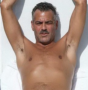 George clooney in the nude