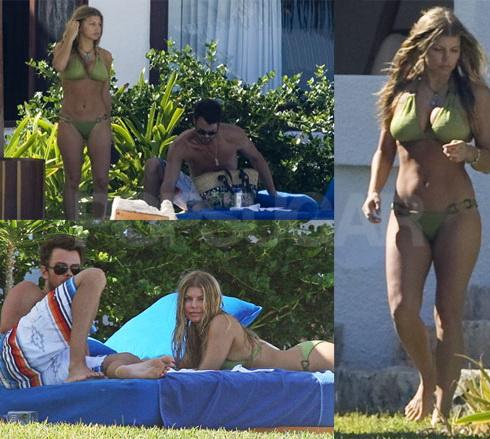 Photos : Fergie : La chanteuse entirement nue pour la