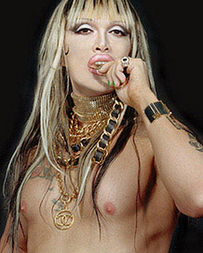 Pete Burns nude