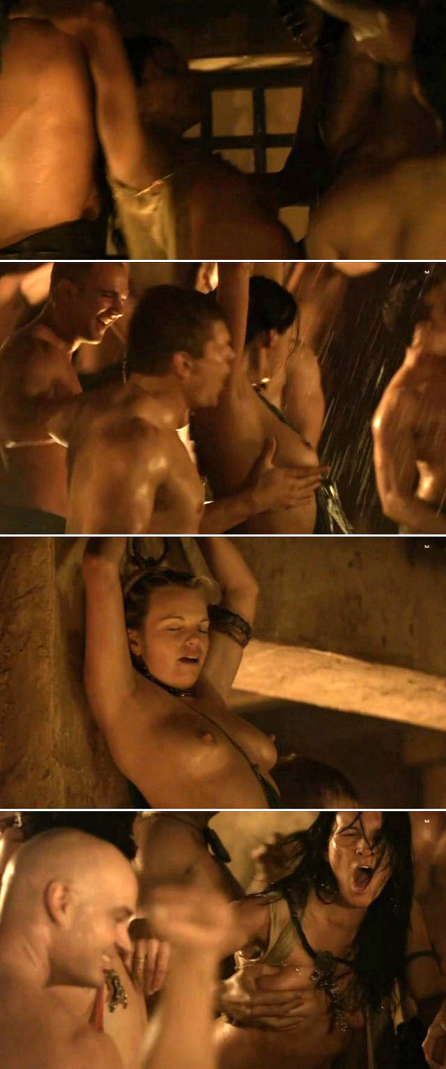 Watch Spartacus sex scenes!